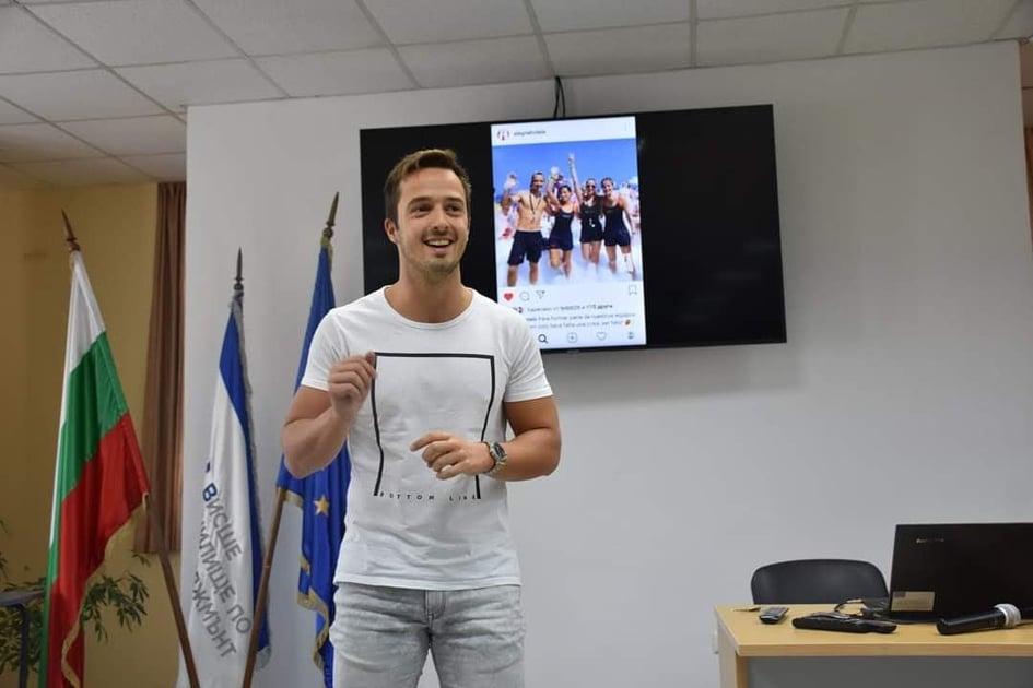 22-годишно момче от Добрич избра да бъде учител по испански език
