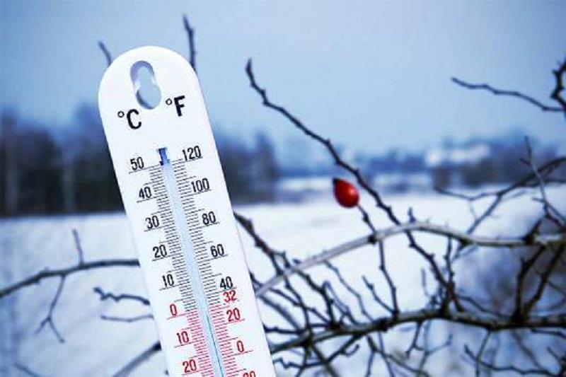 Екстремно ниски температури са отчетени в страната