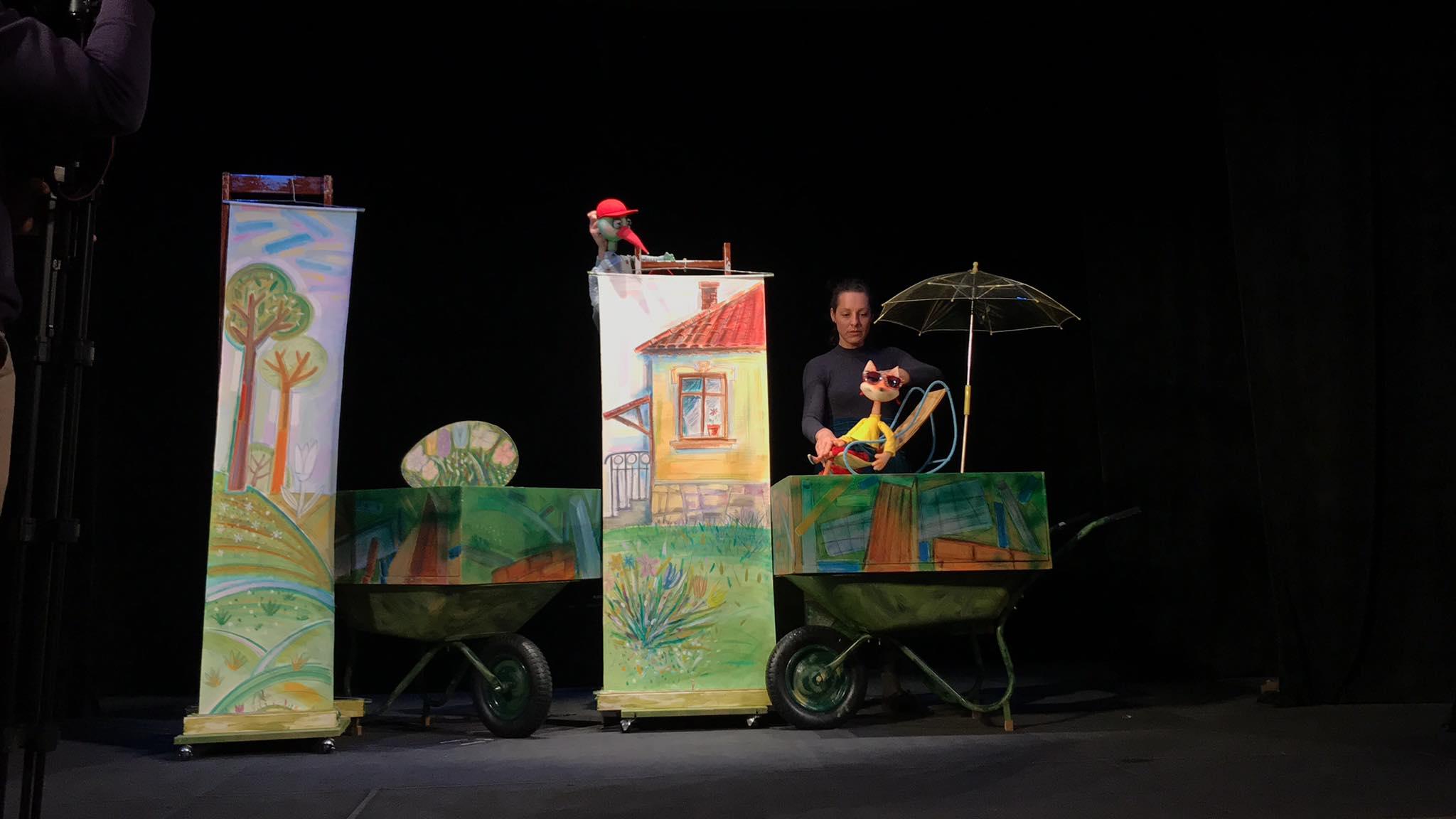Новият спектакъл на кукления театър учи най-малките да не са толкова наивни и доверчиви