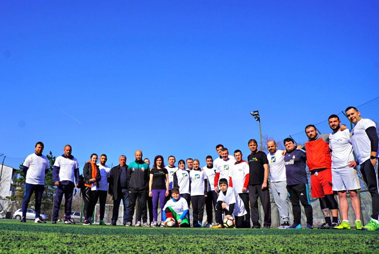 Символичен междупартиен турнир по футбол се проведе в Добрич