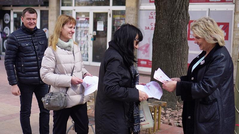 """От """"БСП за България"""" посрещат избиратели в нов офис"""