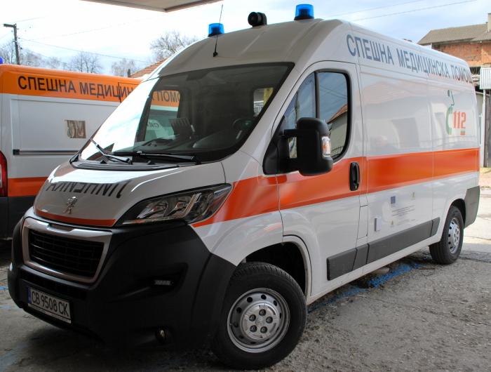 "Филиалът на ""Спешна медицинска помощ"" в Генерал Тошево получи нова линейка"