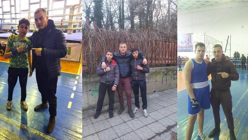 """Златен и два бронзови медала за боксьорите на """"Добруджа"""" от Републиканско първенство в Плевен"""
