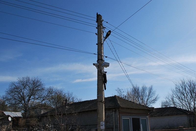 Седем HD камери за видеонаблюдение бяха монтирани в с. Спасово
