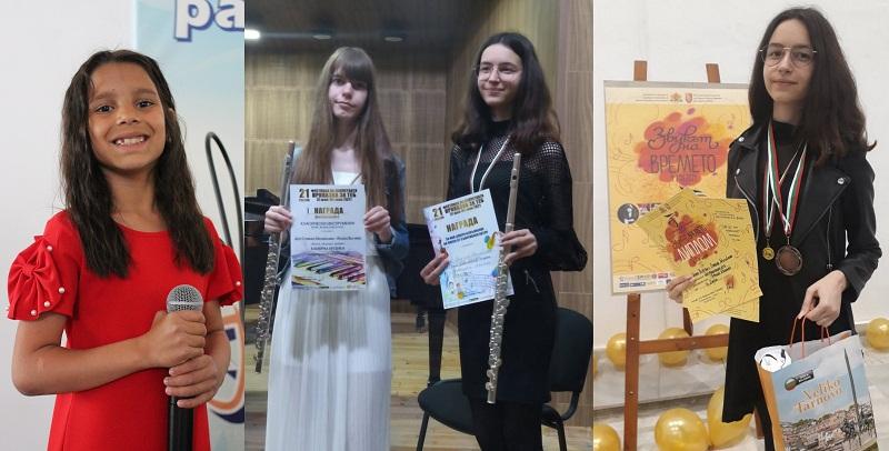 """Флейтисти и певци от Арт център """"Палитра"""" с награди от три фестивала"""