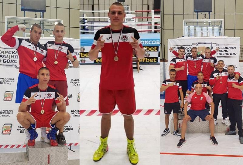 Стилиян Страхилов прослави Добрич на Държавното лично първенство по бокс за младежи