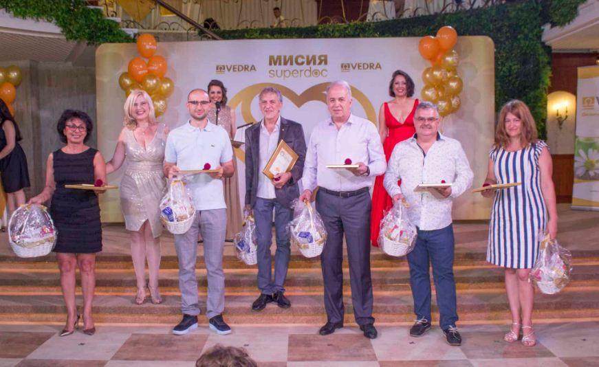 Д-р Красимир Стоилов с награда за най-обичан от пациентите лекар