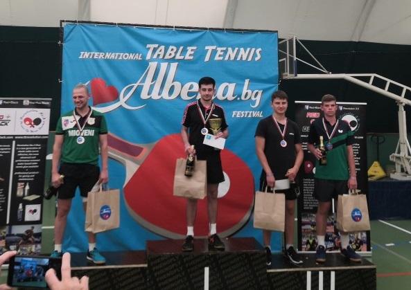Чужденци доминираха във фестивал по тенис на маса