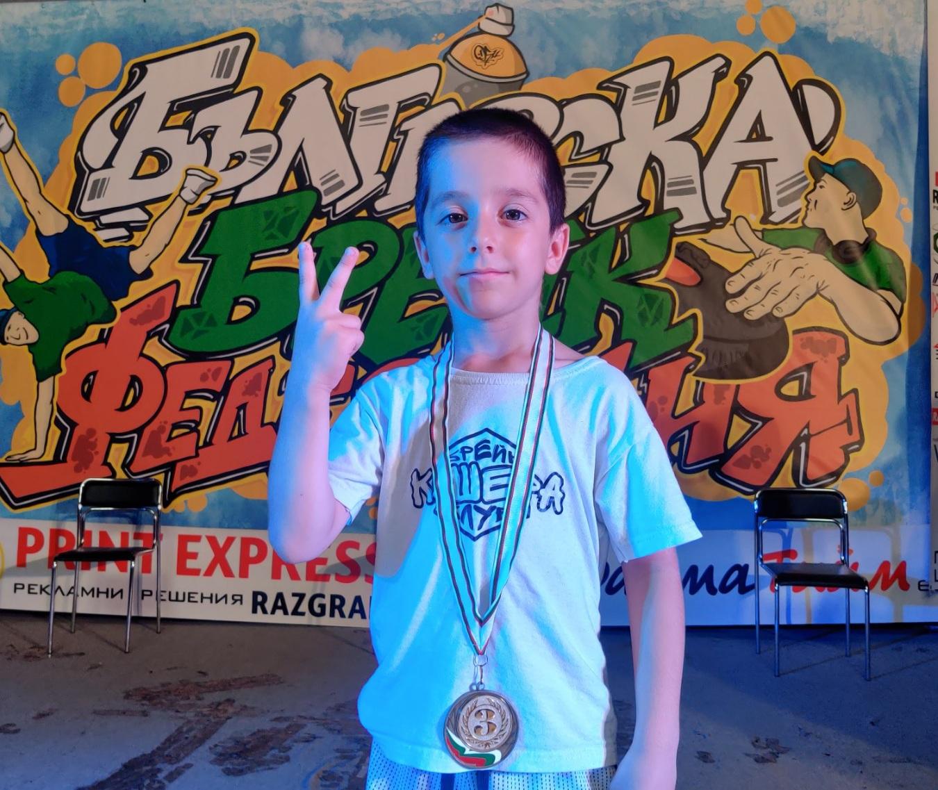 """Людмил Енчев от брейк клуб """"Кошера"""" е финалист на Националния турнир Funk Busters"""
