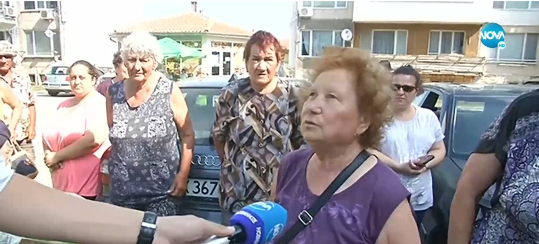Жители на Каварна на протест заради липсващи контейнери за боклук