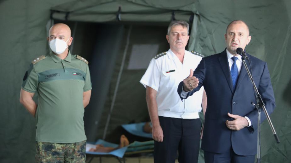 """Радев заяви, че ще търси """"рационално решение"""" за избори 2 в 1"""