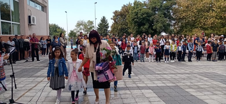 111 първокласници прекрачиха праговете на училищата в община Тервел