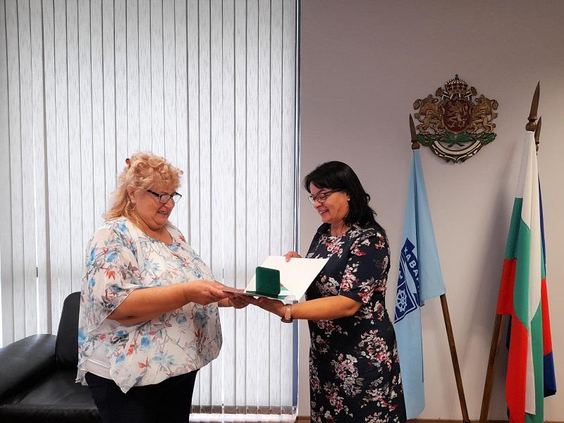 Община Каварна получи награда от Съюза на военноинвалидите и военнопострадалите