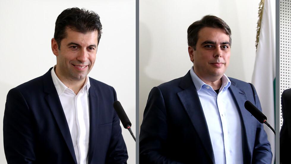 До дни обявяват кой ще бъде мандатоносител на Петков и Василев