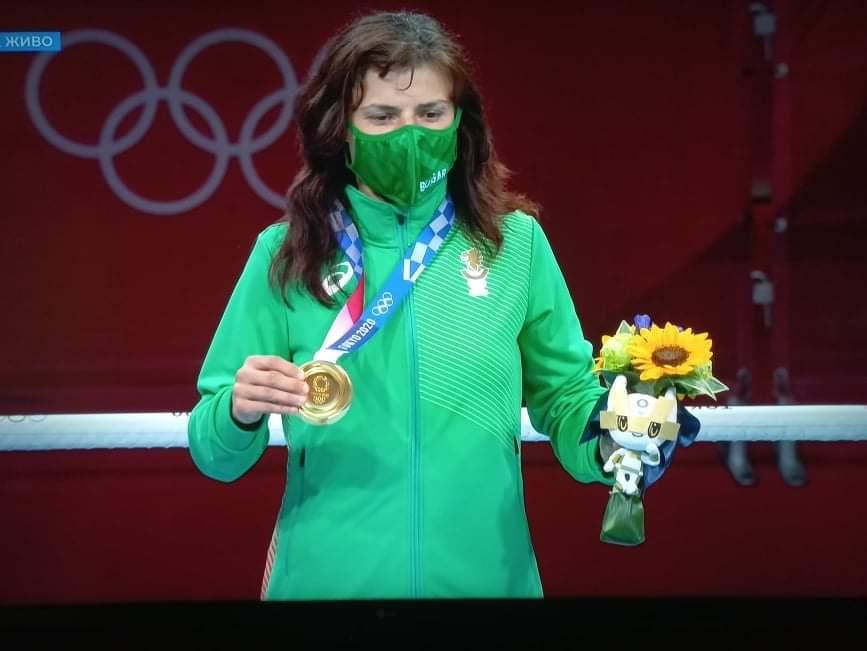 Стойка Кръстева и нейният първи треньор Стефан Петков са почетни граждани на Добрич