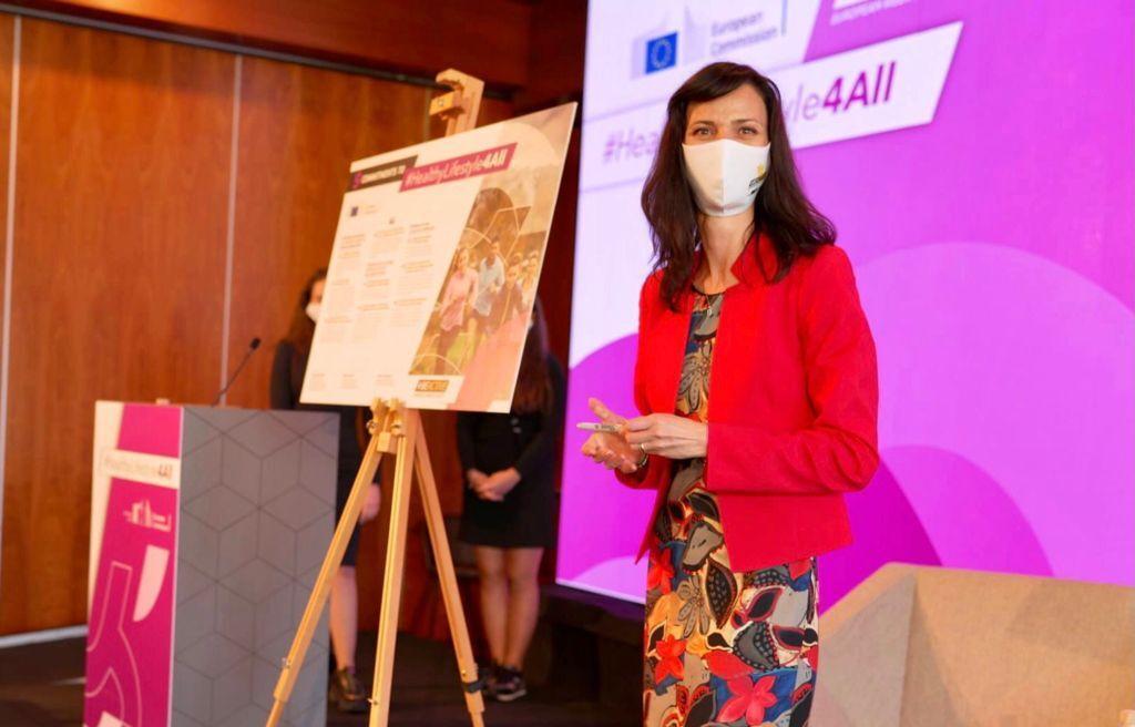 """Нова инициатива """"Здравословен начин на живот за всички"""" обяви еврокомисар Мария Габриел"""