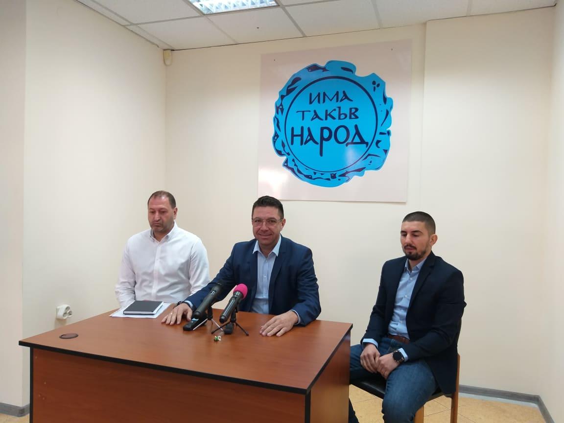 Дилян Господинов няма да е водач на листата на ИТН на предстоящите избори