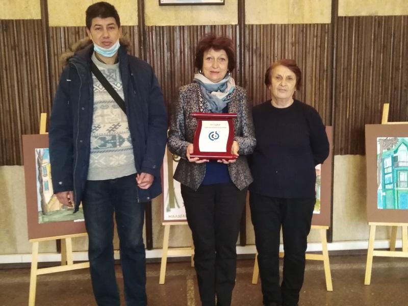 Община град Добрич е отличена с почетен плакет от Съюза на слепите в България